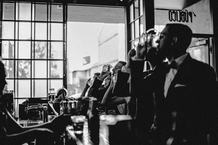 El Publico Bar wedding